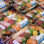 Typical Sashimi Lunch Packs in Supermarkets