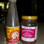 Padas Bagoong and Dilis Bagoong: Fermented Fish Sauces