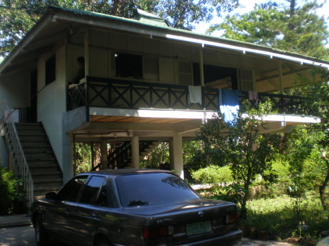 One quarter of the main house