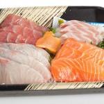 Typical Japanese Sashimi Set